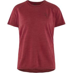 Klättermusen Eir Rain Shortsleeve Shirt Women red